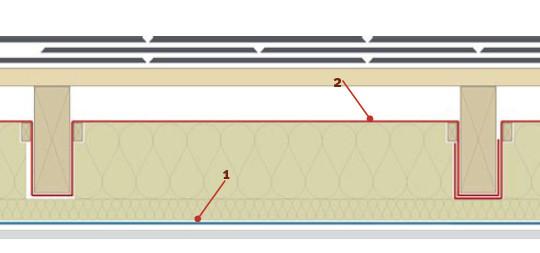 Membrana dachowa na deskowanie
