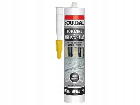 Klej do blachy Soudal Colozinc